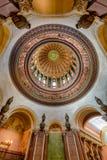 Capitolio interno de Illinois de la bóveda Imagen de archivo libre de regalías