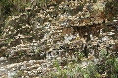 Capitolio Minas Gerais - vista del barranco de Furnas - Trilha hace el solenoide fotografía de archivo