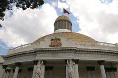Capitolio nacional Caracas Venezuela Foto de archivo