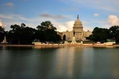 Capitolio nacional en Washington DC Imágenes de archivo libres de regalías