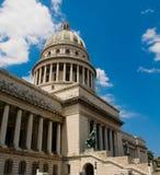 Capitolio no La Havana. Fotografia de Stock