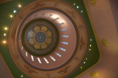 Capitolio que construye el interior de la Rotonda, Salem, Oregon Fotos de archivo libres de regalías