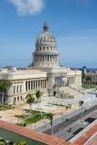 Capitolio que construye a Havana Cuba Imagen de archivo