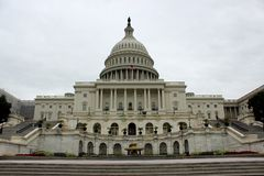 Capitolio que construye a Washington United States de América Fotos de archivo libres de regalías