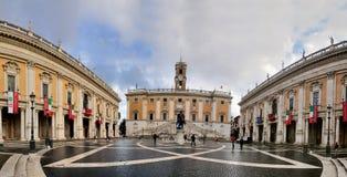 Capitolio, Roma Imagen de archivo libre de regalías