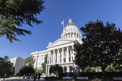 Capitolio Sacramento de California foto de archivo libre de regalías