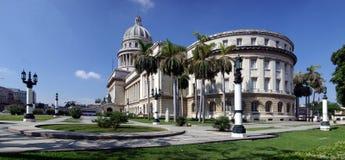 Capitolio square. Panorama view of Capitolio square  in Havana Stock Photo
