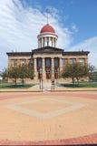 Capitolio viejo del estado de Illinois Imágenes de archivo libres de regalías