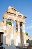 Capitolium, Brescia stock afbeeldingen