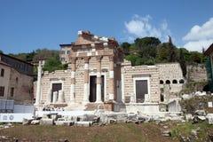 Capitolium, Brescia, Italy Stock Images
