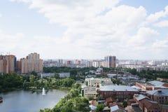 capitolstadscroatia panorama zagreb Arkivbilder
