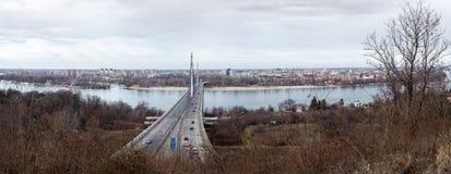 capitolstadscroatia panorama zagreb Arkivfoto