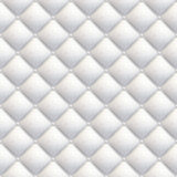 Capitonnage de cuir blanc sans joint Image libre de droits