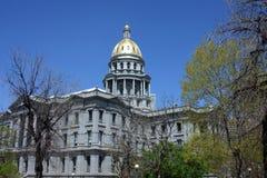Capitool dat Denver bouwt Royalty-vrije Stock Fotografie