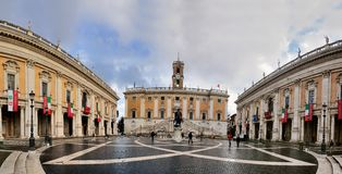 Capitool, Rome Royalty-vrije Stock Afbeelding