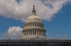 Capitoolkoepel in Washington stock foto's