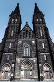 Capitular Church of Saint Peter and Paul. In Prague, Vysehrad, Czech Republic Stock Photo