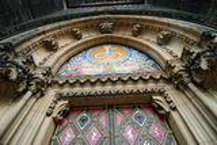 The Capitular Church of Saint Peter & Paul, Prague royalty free stock photo