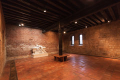 The Capitular Hall of Saint Agnes Convent. Royalty Free Stock Photos