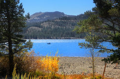 Caples湖 免版税库存照片