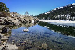Caples lake, CA Royalty Free Stock Images