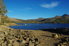 Caples Lake, California Royalty Free Stock Images