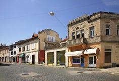 Caplina-Stadt Schattierte Entlastungskarte mit HauptStadtgebieten Stockfotografie