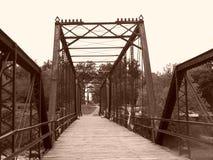 Caplinger Mills Bridge Wildlife Area Stock Image