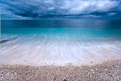 Capo Bianco beach, Elba island. Royalty Free Stock Image
