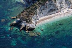 Capo bianco-Elba eiland-Portoferraio Stock Fotografie