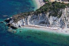 Capo bianco-Elba eiland-Portoferraio Royalty-vrije Stock Foto's