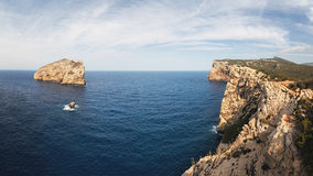 Capo Caccia, Σαρδηνία, Ιταλία Στοκ εικόνες με δικαίωμα ελεύθερης χρήσης