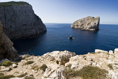 Capo Caccia. One of the many beautiful inlets in Sardinia, Italy Stock Photography