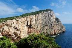 Capo Caccia Royalty Free Stock Images