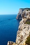 Capo Caccia Cliff Royalty Free Stock Photos
