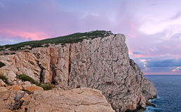 Capo Caccia cliff Stock Photography