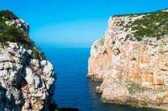 Capo Caccia Stock Images