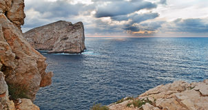 Capo Caccia coast Royalty Free Stock Photography
