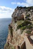 Capo Caccia dichtbij Alghero, Sardinige, Italië Stock Foto