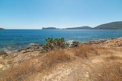 Capo Caccia headland Royalty Free Stock Photo
