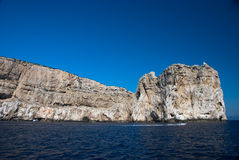 Capo Caccia lighthouse Stock Images
