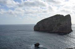 Capo Caccia pr?s d'Alghero, Sardaigne, Italie photographie stock libre de droits