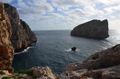 Capo Caccia pr?s d'Alghero, Sardaigne, Italie photos libres de droits