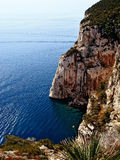 Capo Caccia rocks Royalty Free Stock Photography