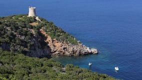 Capo Caccia, Sardaigne image libre de droits