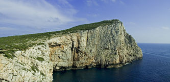 Capo Caccia Sardinia. View of Capo Caccia, Sardinia. This coast is near Alghero and it is a good place for tourists Stock Images