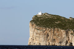 Capo Caccia, Sardinige stock foto