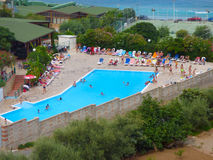 Capo Calava, Sicily, Italy. SEPT 5, 2016: Capo Calava is popular recreational tourist center stock image