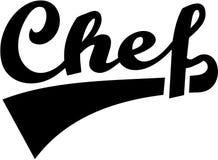 Capo Chef retro tedesco illustrazione vettoriale