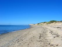 Capo Cod, spiaggia 02 immagini stock libere da diritti